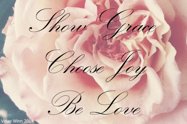 Theme grace joy love
